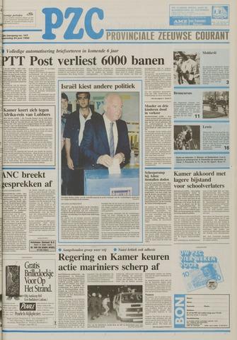 Provinciale Zeeuwse Courant 1992-06-24
