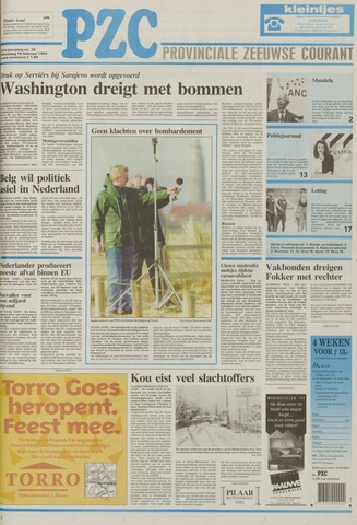 Provinciale Zeeuwse Courant 1994-02-16