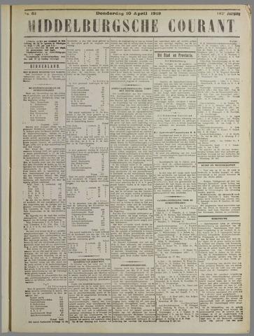 Middelburgsche Courant 1919-04-10