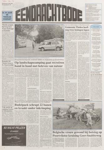 Eendrachtbode (1945-heden)/Mededeelingenblad voor het eiland Tholen (1944/45) 1999-07-22