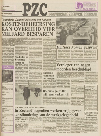 Provinciale Zeeuwse Courant 1976-04-16