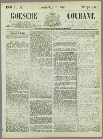 Goessche Courant 1893-07-27