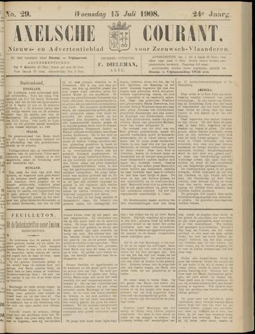 Axelsche Courant 1908-07-15