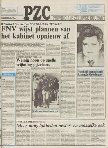 Provinciale Zeeuwse Courant 1980-10-28