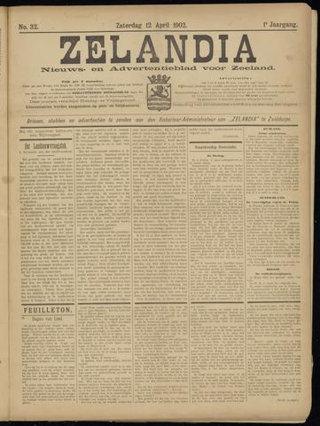 Zelandia. Nieuws-en advertentieblad voor Zeeland | edities: Het Land van Hulst en De Vier Ambachten 1902-04-12