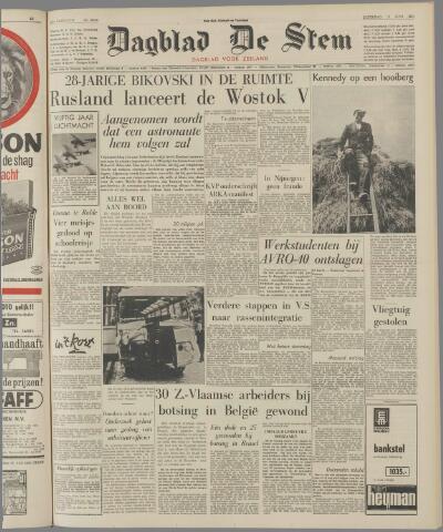 de Stem 1963-06-15