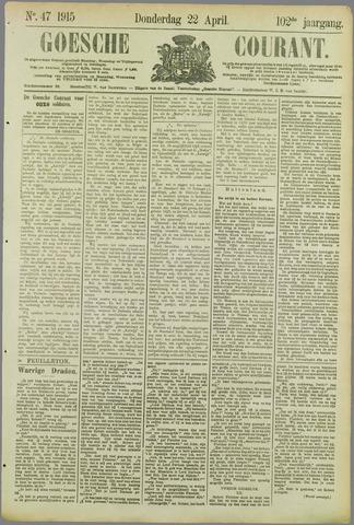 Goessche Courant 1915-04-22