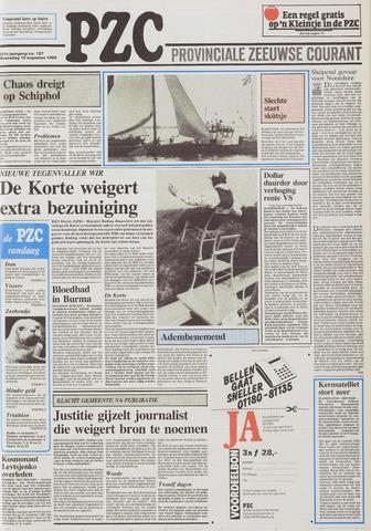 Provinciale Zeeuwse Courant 1988-08-10