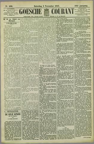 Goessche Courant 1917-11-03