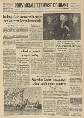 Provinciale Zeeuwse Courant 1957-11-25