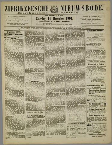Zierikzeesche Nieuwsbode 1901-12-14