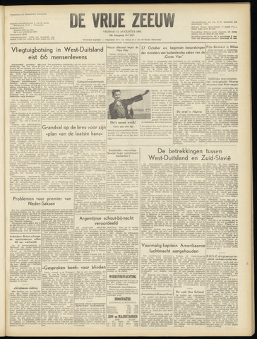 de Vrije Zeeuw 1955-08-12