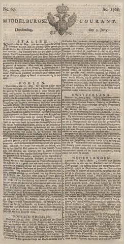 Middelburgsche Courant 1768-06-09