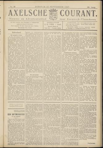 Axelsche Courant 1937-09-21