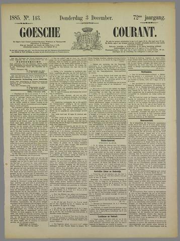 Goessche Courant 1885-12-03