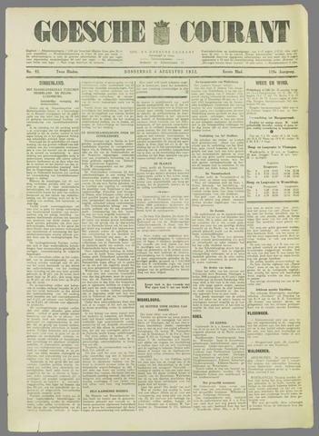Goessche Courant 1932-08-04