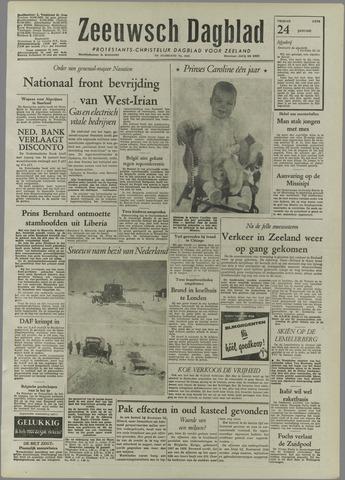 Zeeuwsch Dagblad 1958-01-24