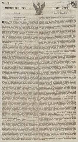 Middelburgsche Courant 1827-12-11