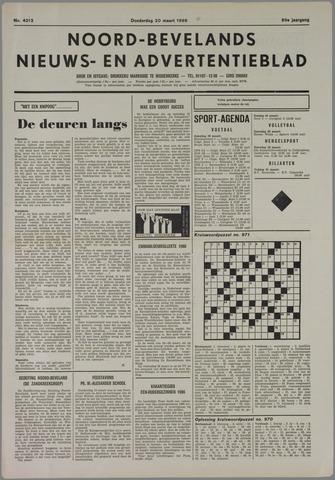 Noord-Bevelands Nieuws- en advertentieblad 1986-03-20
