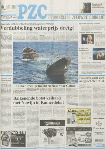Provinciale Zeeuwse Courant 2002-11-20