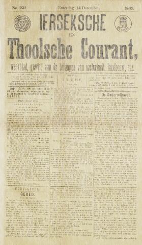 Ierseksche en Thoolsche Courant 1889-12-14