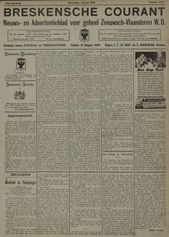 Breskensche Courant 1936