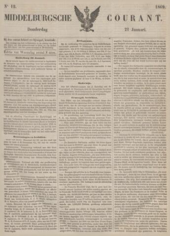 Middelburgsche Courant 1869-01-21