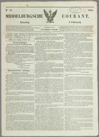Middelburgsche Courant 1861-02-09