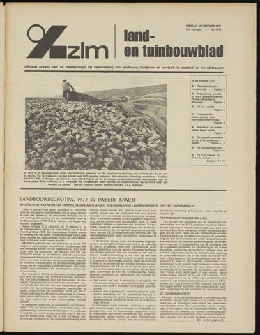 Zeeuwsch landbouwblad ... ZLM land- en tuinbouwblad 1971-10-29