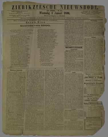 Zierikzeesche Nieuwsbode 1896