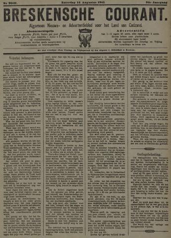 Breskensche Courant 1915-08-14