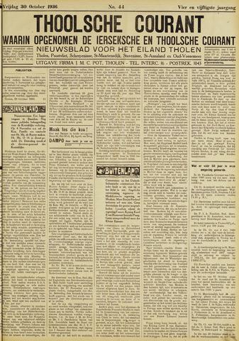 Ierseksche en Thoolsche Courant 1936-10-30