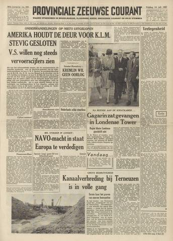 Provinciale Zeeuwse Courant 1961-07-14