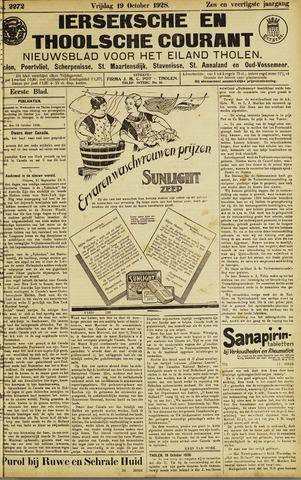 Ierseksche en Thoolsche Courant 1928-10-19