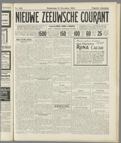 Nieuwe Zeeuwsche Courant 1913-12-11