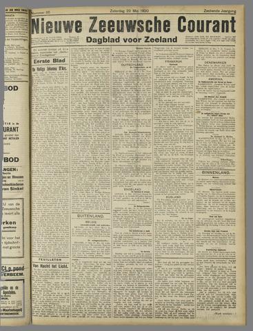 Nieuwe Zeeuwsche Courant 1920-05-29