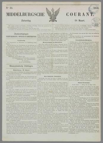 Middelburgsche Courant 1854-03-18