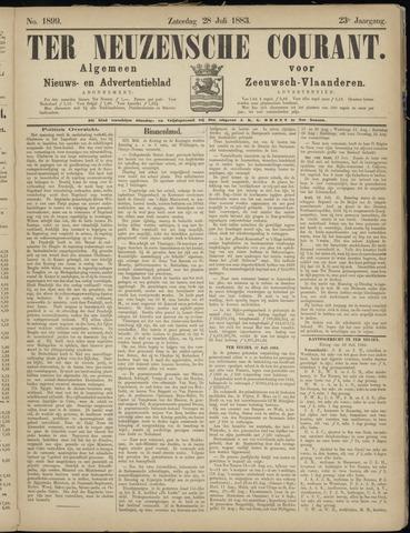 Ter Neuzensche Courant. Algemeen Nieuws- en Advertentieblad voor Zeeuwsch-Vlaanderen / Neuzensche Courant ... (idem) / (Algemeen) nieuws en advertentieblad voor Zeeuwsch-Vlaanderen 1883-07-28
