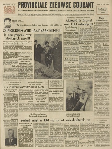 Provinciale Zeeuwse Courant 1963-05-10
