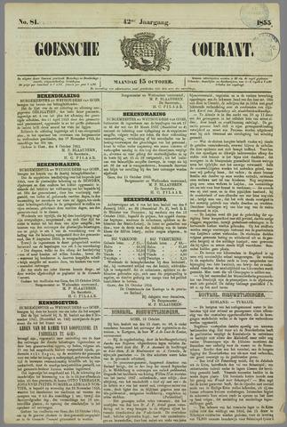 Goessche Courant 1855-10-15