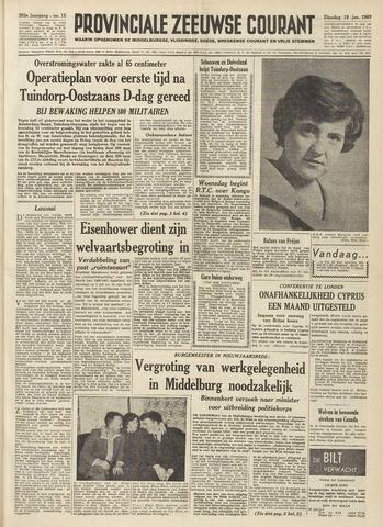 Provinciale Zeeuwse Courant 1960-01-19