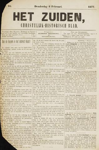 Het Zuiden, Christelijk-historisch blad 1877-02-08