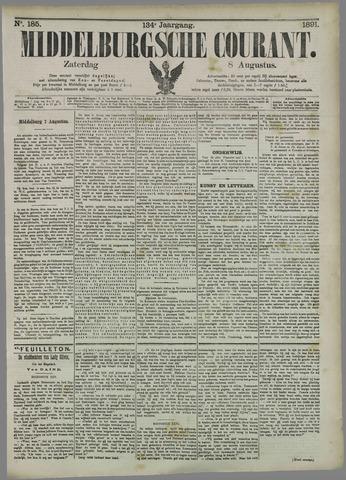 Middelburgsche Courant 1891-08-08