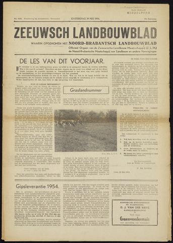 Zeeuwsch landbouwblad ... ZLM land- en tuinbouwblad 1954-05-29