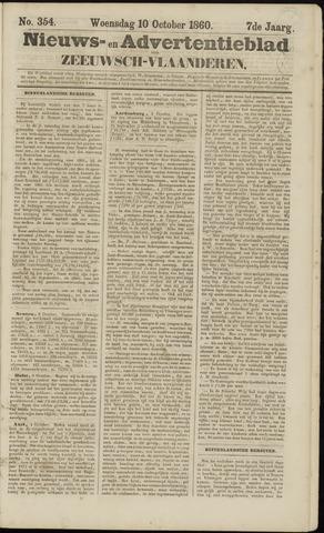 Ter Neuzensche Courant. Algemeen Nieuws- en Advertentieblad voor Zeeuwsch-Vlaanderen / Neuzensche Courant ... (idem) / (Algemeen) nieuws en advertentieblad voor Zeeuwsch-Vlaanderen 1860-10-10