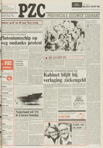 Provinciale Zeeuwse Courant 1984-10-06