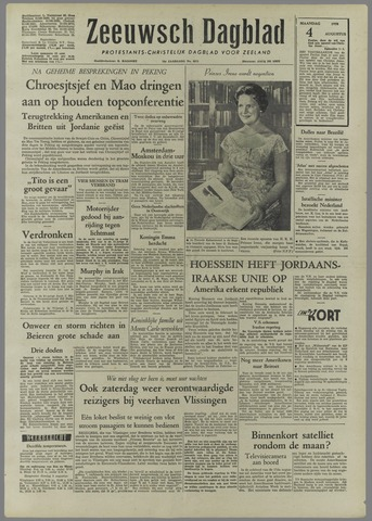 Zeeuwsch Dagblad 1958-08-04