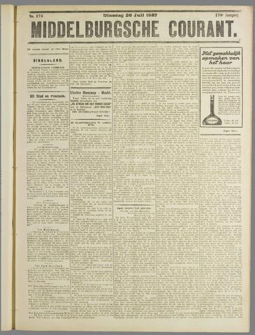 Middelburgsche Courant 1927-07-26
