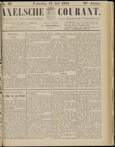 Axelsche Courant 1911-07-12
