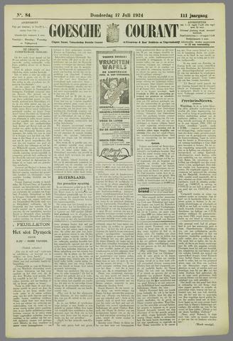 Goessche Courant 1924-07-17